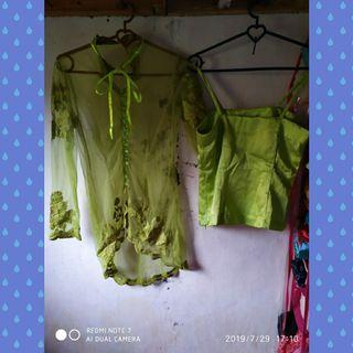 Kebaya Set (inner + outer)