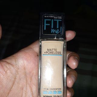 Maybelline Fit Me Foundation shade 125