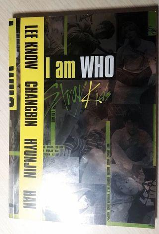 Stray kids album I Am Who