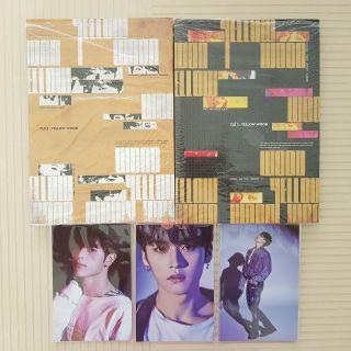 Stray Kids Cle 2 Yellow Wood (Album Only + PO Postcard)