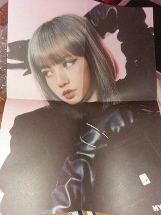 Blackpink lisa ktl poster official kill this love