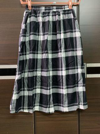 有口袋的裙子