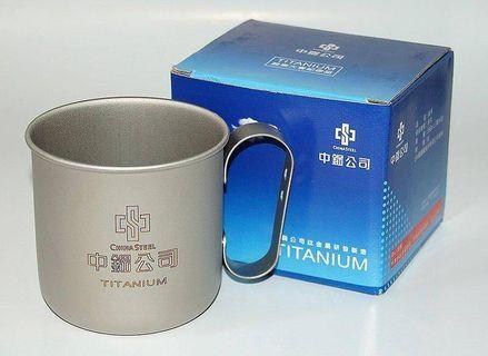 中鋼鈦金屬碗bowl mug 350ml