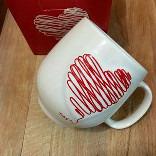 愛心❤️塗鴉線條馬克杯大容量