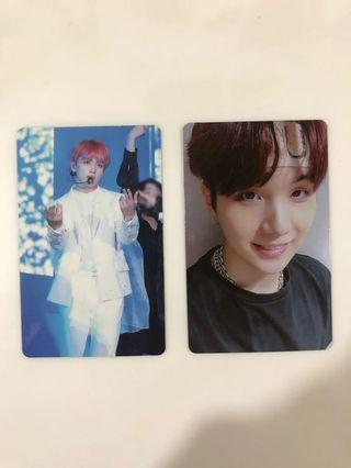 [WTS] BTS LOVE YOURSELF TOUR SEOUL EUROPE DVD PHOTOCARD JUNGKOOK SUGA
