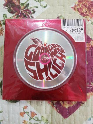 Gdragon first live CD