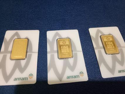 Gold antam bar 10 gr emas antam