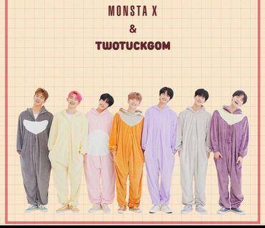 Looking for Monsta X twotuckgom fan sign ticket