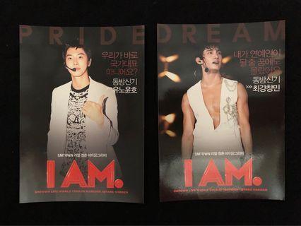 Free shipping TVXQ IAM postcards set