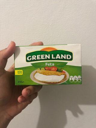 Feta cheese greenland