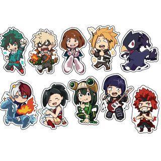 🚚 BNHA Anime Keychains