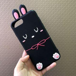 iPhone 7plus / 8plus Full-Covered Silicon Case (Rabbit)
