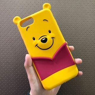 iPhone 7plus / 8plus Full-Covered Silicon Case (Bear)