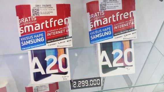 A20 Samsung Bisa cicilan