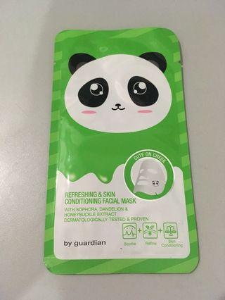 Refreshing and skin conditioning facial mask