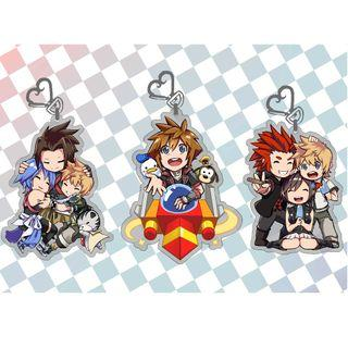 🚚 Kingdom Hearts 3 Acrylic Charms