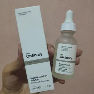 Free ongkir jabodetabek - The Ordinary Salicylic Acid 2%