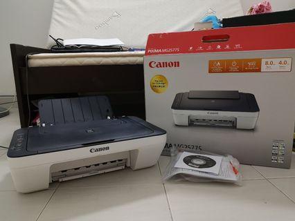 Canon Mg2577s 3in1 inkjet printer