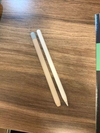 Apple Pencil 2 超薄矽膠筆套(撞色款)