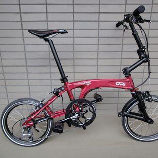 Ori M10 folding bike free a lot accessories including folding bag, front back light, helmet etc