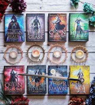 Throne of Glass (Hardcover) series (Complete)
