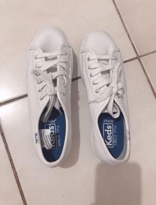 Keds Triple Kick Mesh White Sneaker