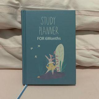 Study Planner - For 6 Months