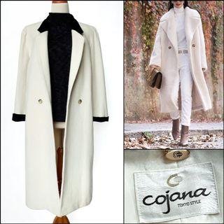 Japan Long Coat / Long wool coat / winter coat / spring coat / autumn coat / coat musim dingin / outerwear / coat korea / coat panjang / outer panjang / mantel / coat putih / broken white / coat wol
