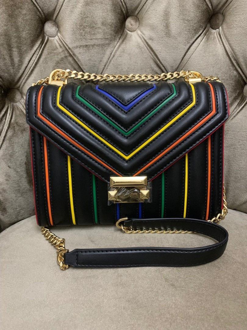 Michael kors rainbow purse