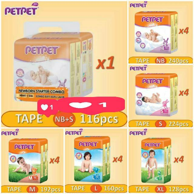 5 days preorder! petpet pampers for all sizes!