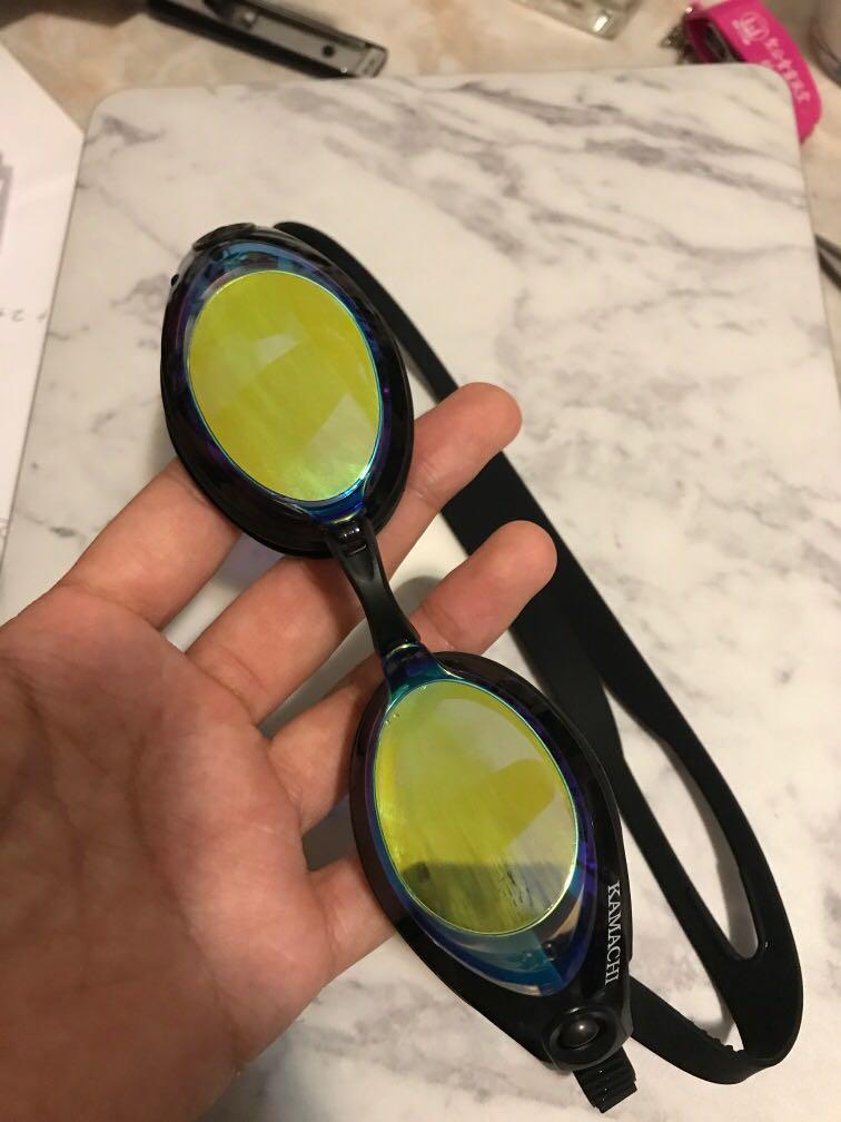 游泳眼鏡 泳鏡 kamachi 200度近視