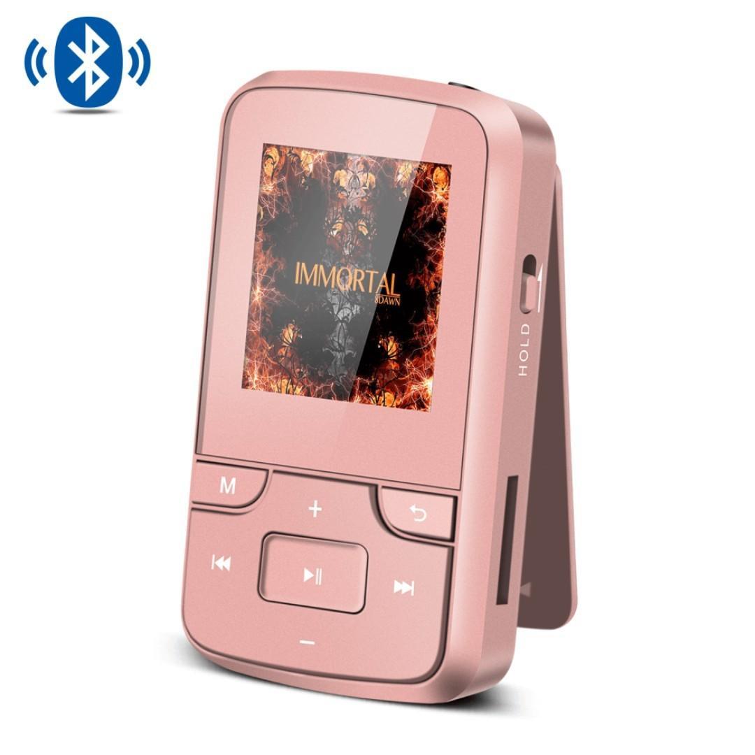 2B 761 (Brand New) AGPTEK 8GB MP3 Player with Bluetooth 4 0