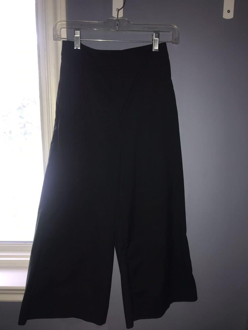 ARITZIA The Group By Babaton Black Walsh Pant in Size 0