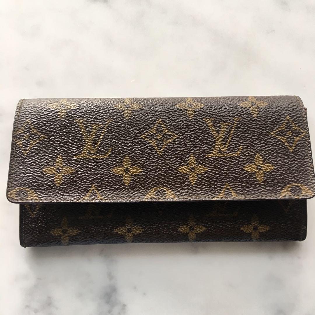 💯%Authentic Louis Vuitton LV Cash purse Wallet