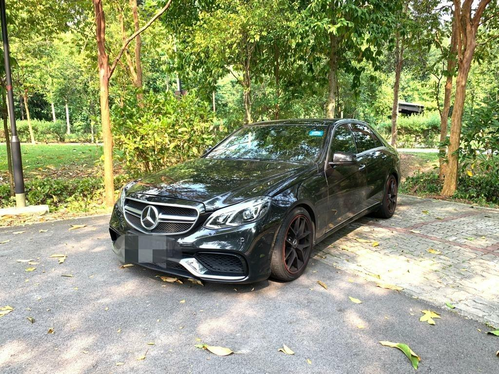 DIESEL HYBRID CAR FOR RENT! MERCEDES E300 DIESEL HYBRID. Travel 1400-1500km with 1 full tank of DIESEL! COMES WITH AMG BODYKITS AND SPORTS RIMS