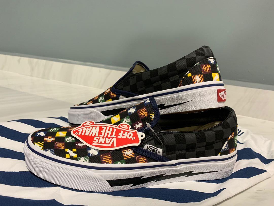 Kunden zuerst Einkaufen Outlet Store Verkauf Brand New Custom Vans x Harry Potter Slip On, Men's Fashion ...