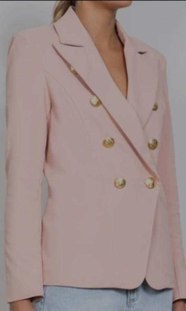 BRAND NEW WISH Go your own way blazer in nude.  Size 12 medium. Tags still on