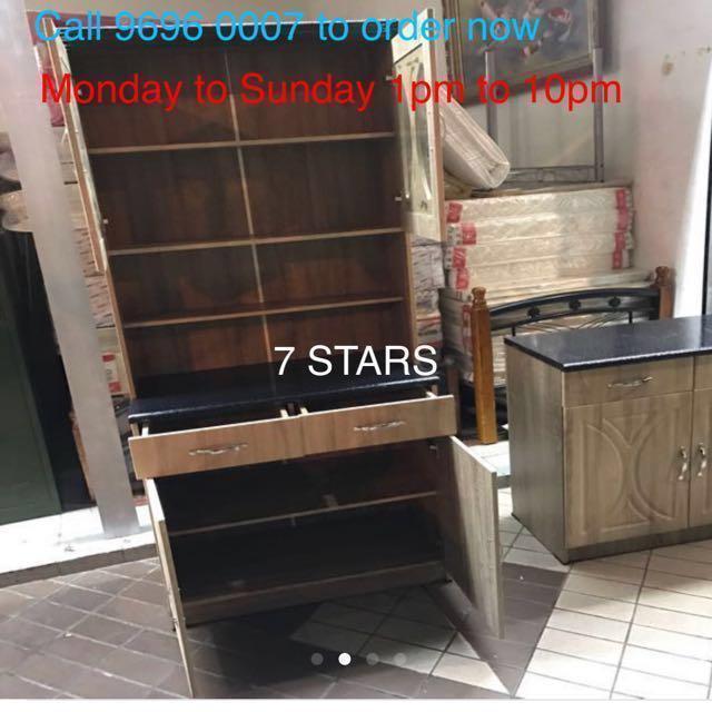 BTO.  Brand New Kitchen Cabinet (H198cm)