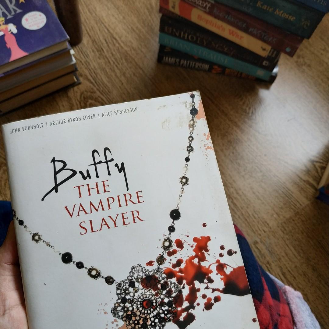 Buffy: The Vampire Slayer by John Vornholt, Arthur Bryon Cover, Alice Henderson