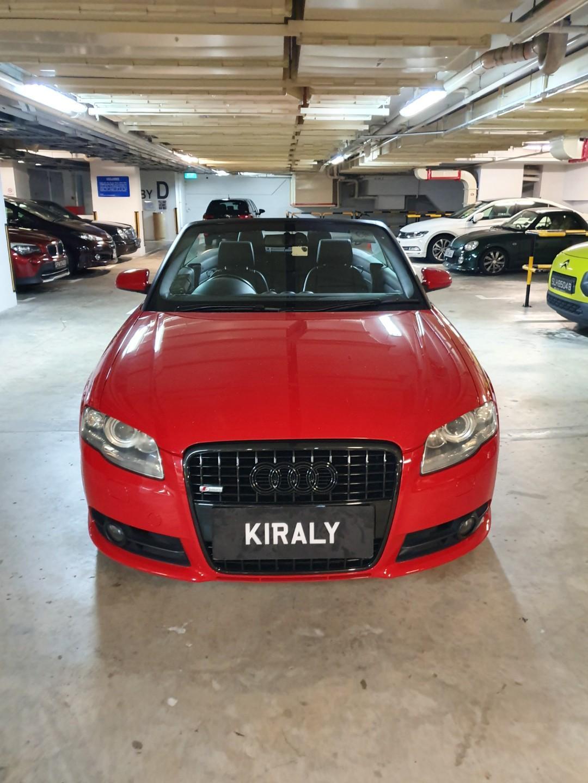 CHEAP RENTAL CAR // Audi A4