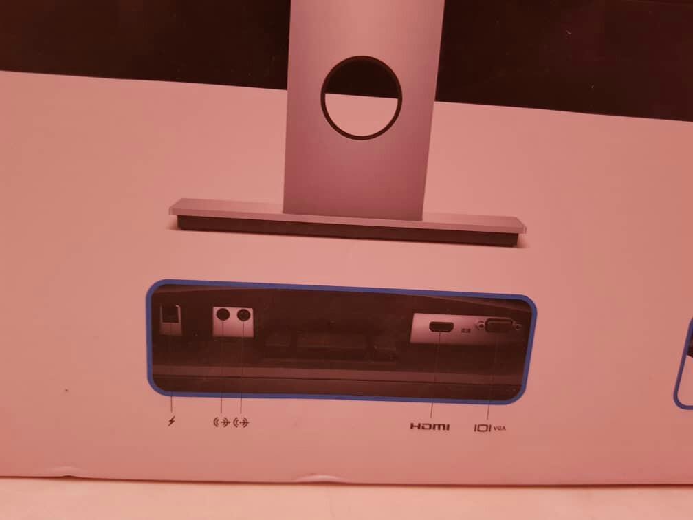 """Dell monitor 23"""" hdmi vga input audio"""