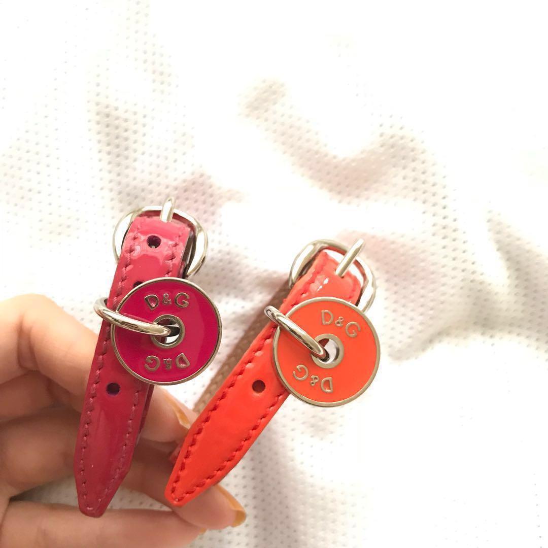 D&G patent bracelet leather Dolce gabbana