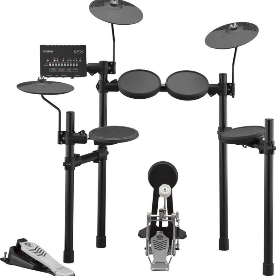 DTX432K + MS45DR electronic drumset bundle (limited time)