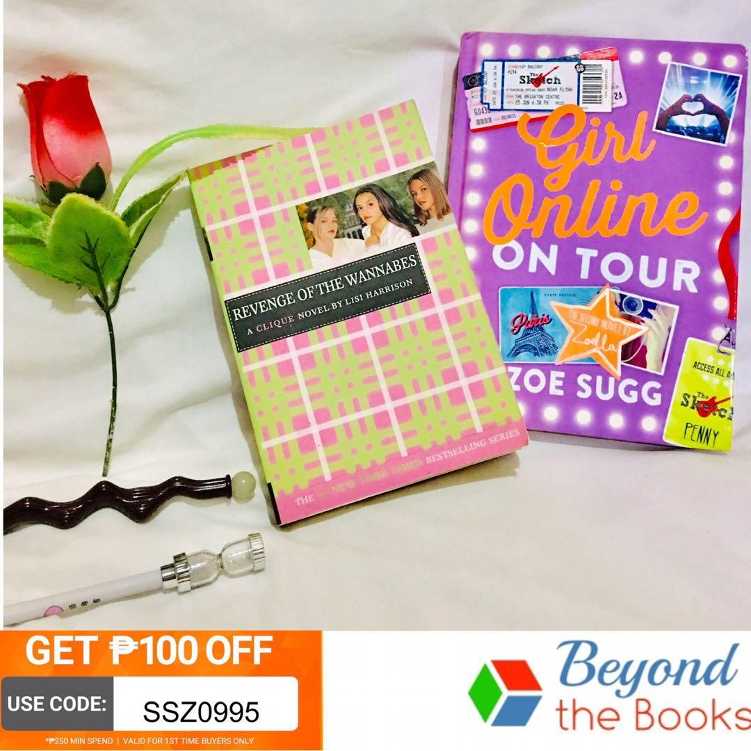 FABULOUS BOOKS: Girl Online On Tour and Revenge of the Wannabes (Take all for 699) #MrSpeedyCarousell