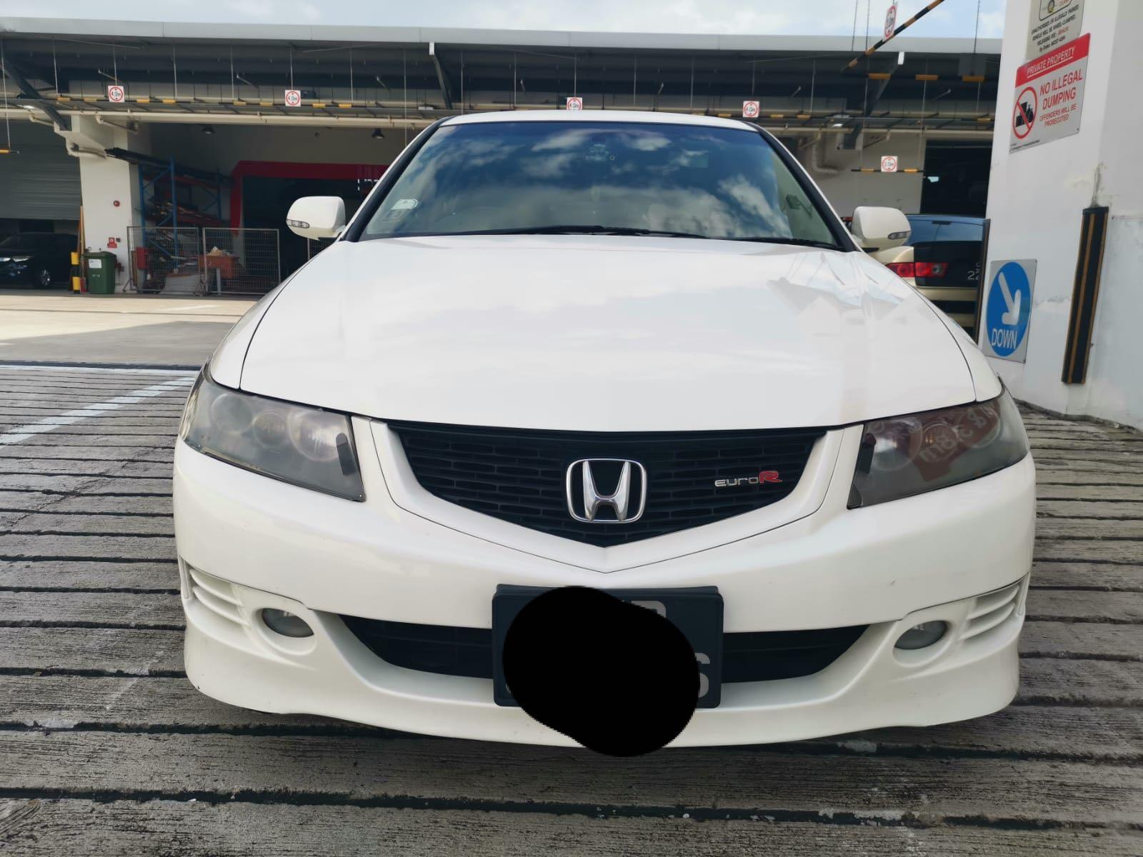 Honda Accord Euro R Manual