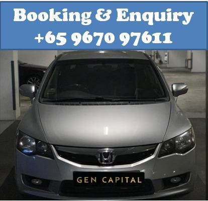 Honda Civic 1.8A @ Lowest rental rates, good condition!