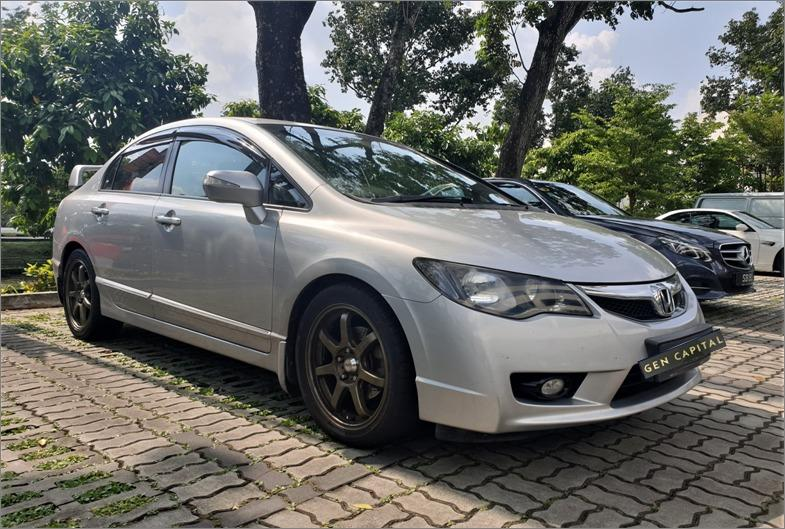 Honda Civic 1.8A *Lowest rental rates, good condition!