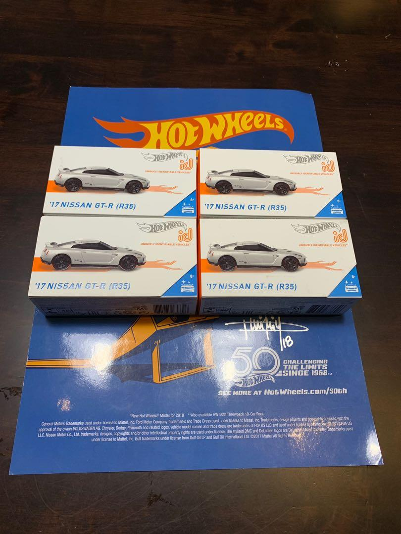 Hot Wheels Id Nissan Skyline gtr