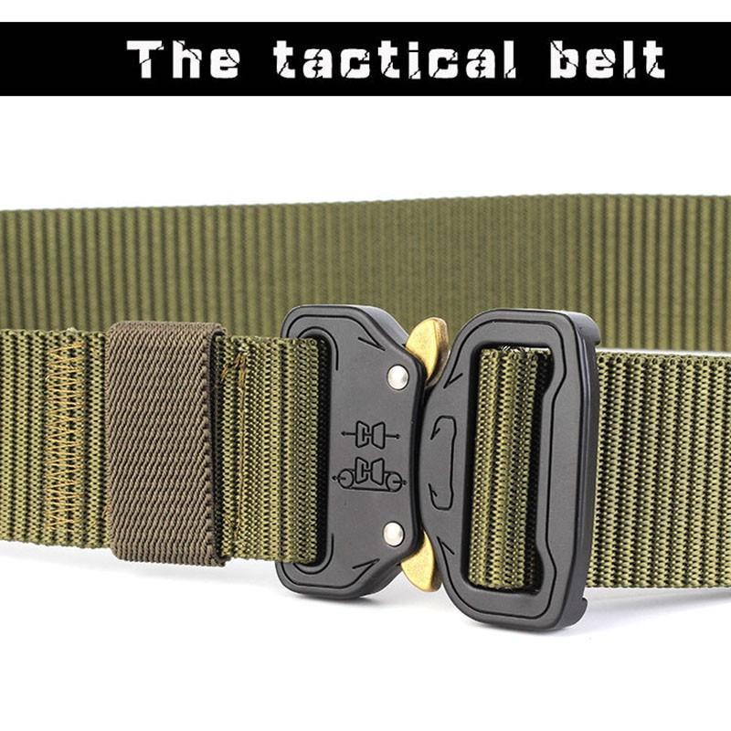 Ikat Pinggang Canvas Army Military Tactical 125cm