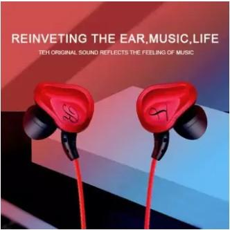 In-ear headphones Double-motion subwoofer HiFi headphones